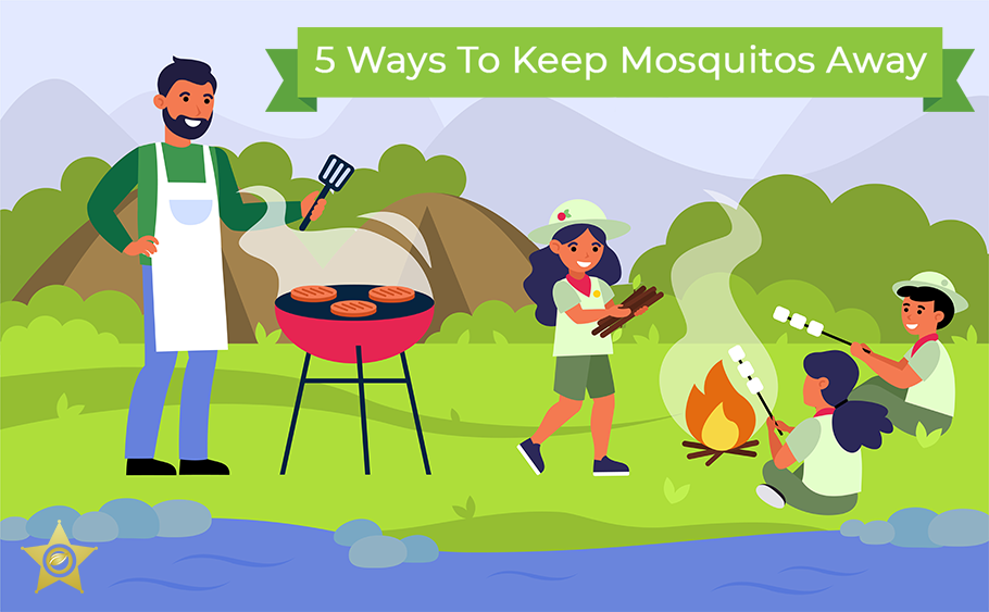 5 Ways To Keep Mosquitoes Away